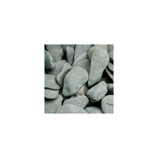Flat pebbles groen 30-60mm