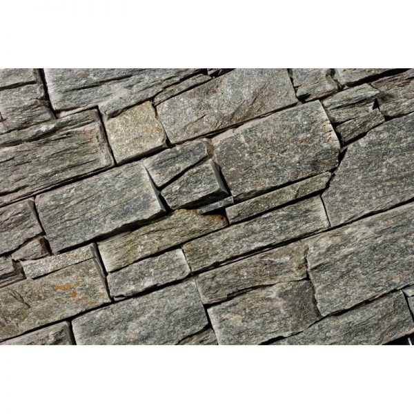 Stone Panels Rustic Silver
