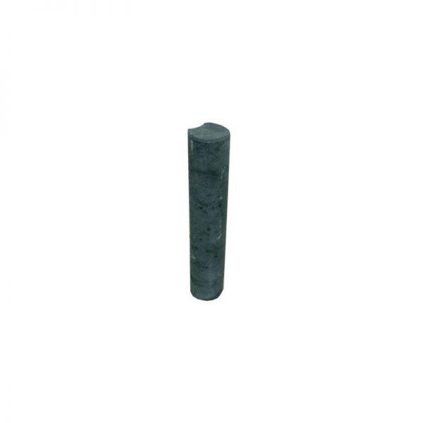 Palissaden diameter 11cm zwart