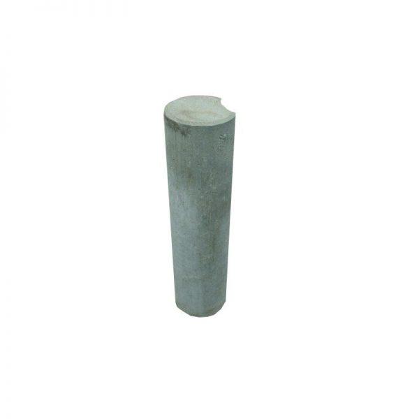 Palissaden diameter 15cm grijs