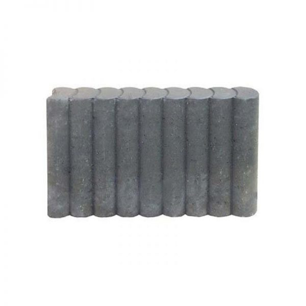 Minirondoband grijs