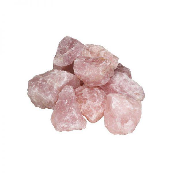Halfedelsteen Rozenquarts Pink