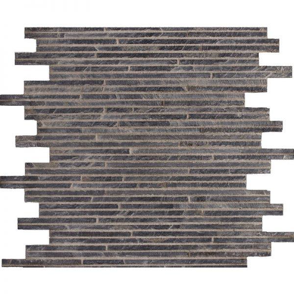 Natural Slate Mosaics Black
